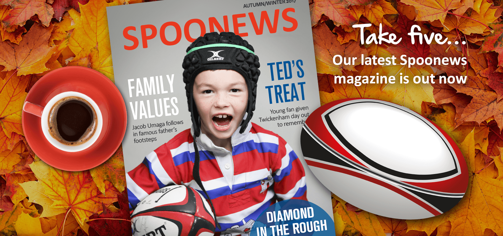 Find out more about the Children's Charity of Rugby ...