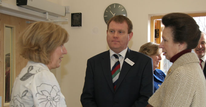 HRH at Bristol and Bath project opening