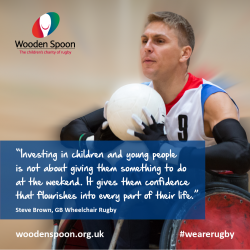 RUGBY CHARITY LAUNCHES NEW CAMPAIGN TO HELP MORE YOUNG PEOPLE PLAY WHEELCHAIR RUGBY