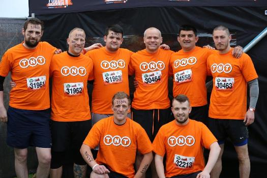 TNT Tough Mudder Team