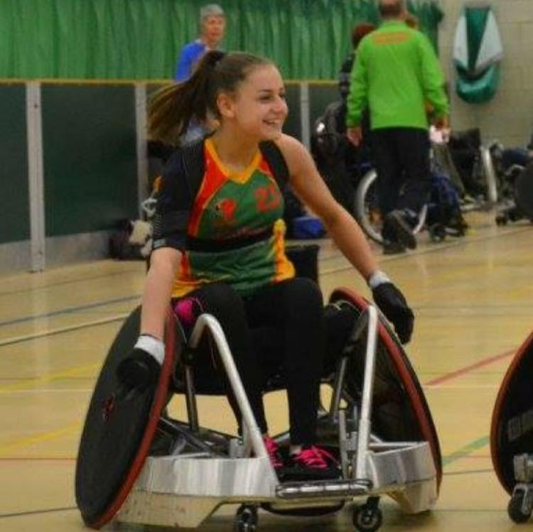 Wheelchair rugby funding from Wooden Spoon Devon