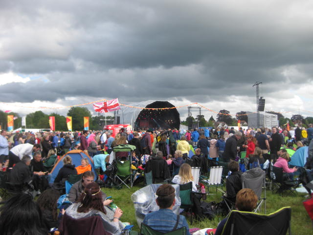 Chiltern rock concert