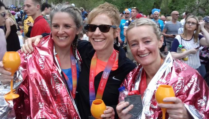 Doing it for the girls - London Marathon