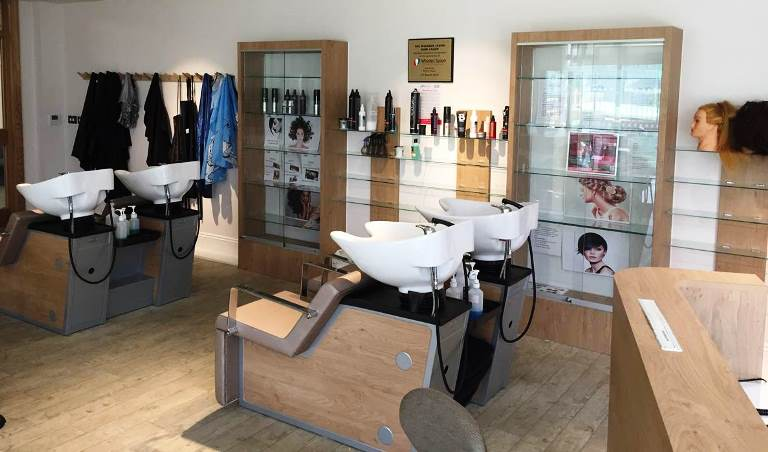 Combe Pafford salon opening