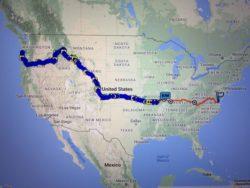TranAm route