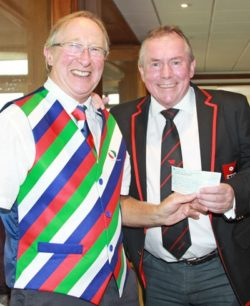 Kent Rugby club golf - Vigo cheque presentation