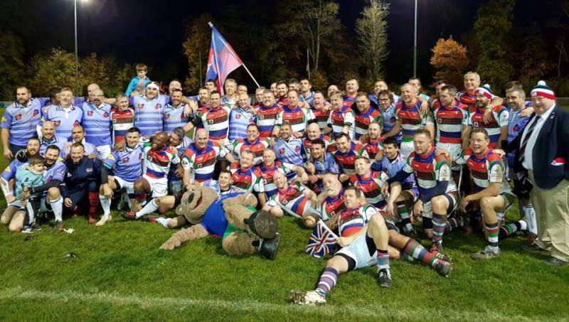 Vets XV with Folk-Clowns XV