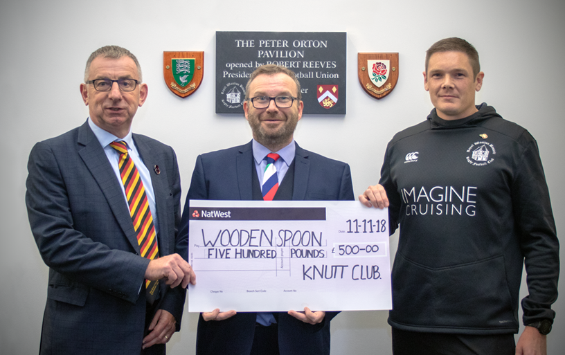 Dorset and Wilts donation - Knutt Club