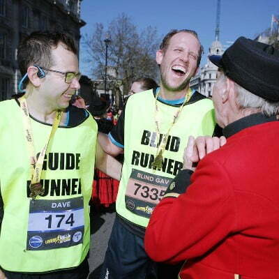 London Marathon - Dave Haggart and Gavin Dean