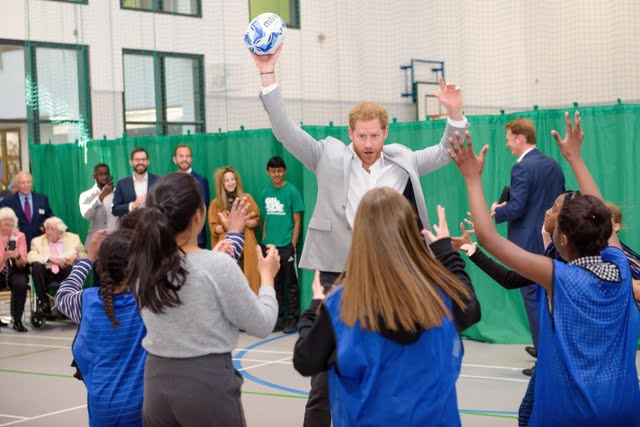 HRH Prince Harry opens Youth Zone