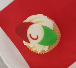 Wooden Spoon cupcake - Park Lane, Aberdare
