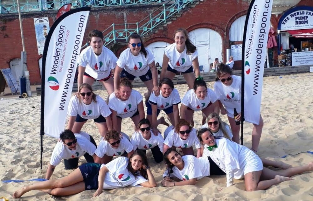 Brighton beach touch rugby May 2019