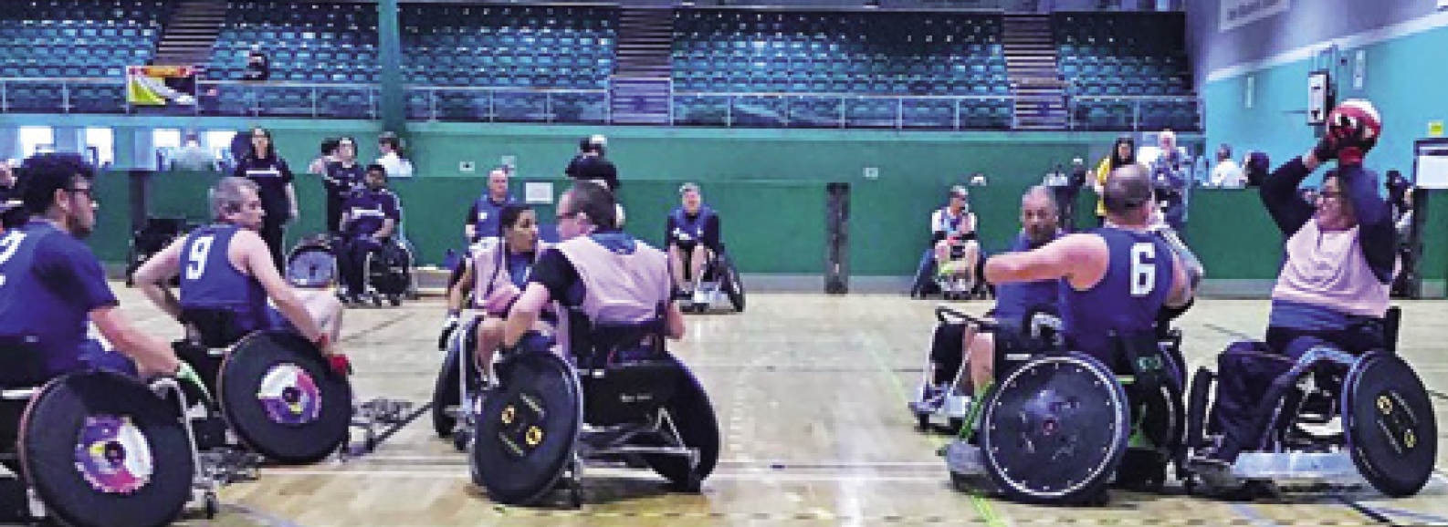 Coventry wheelchair rugby
